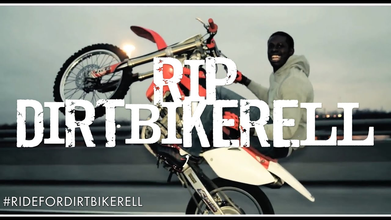 Dirt Bike Rell R I P Tribute Ridefordirtbikerell Youtube