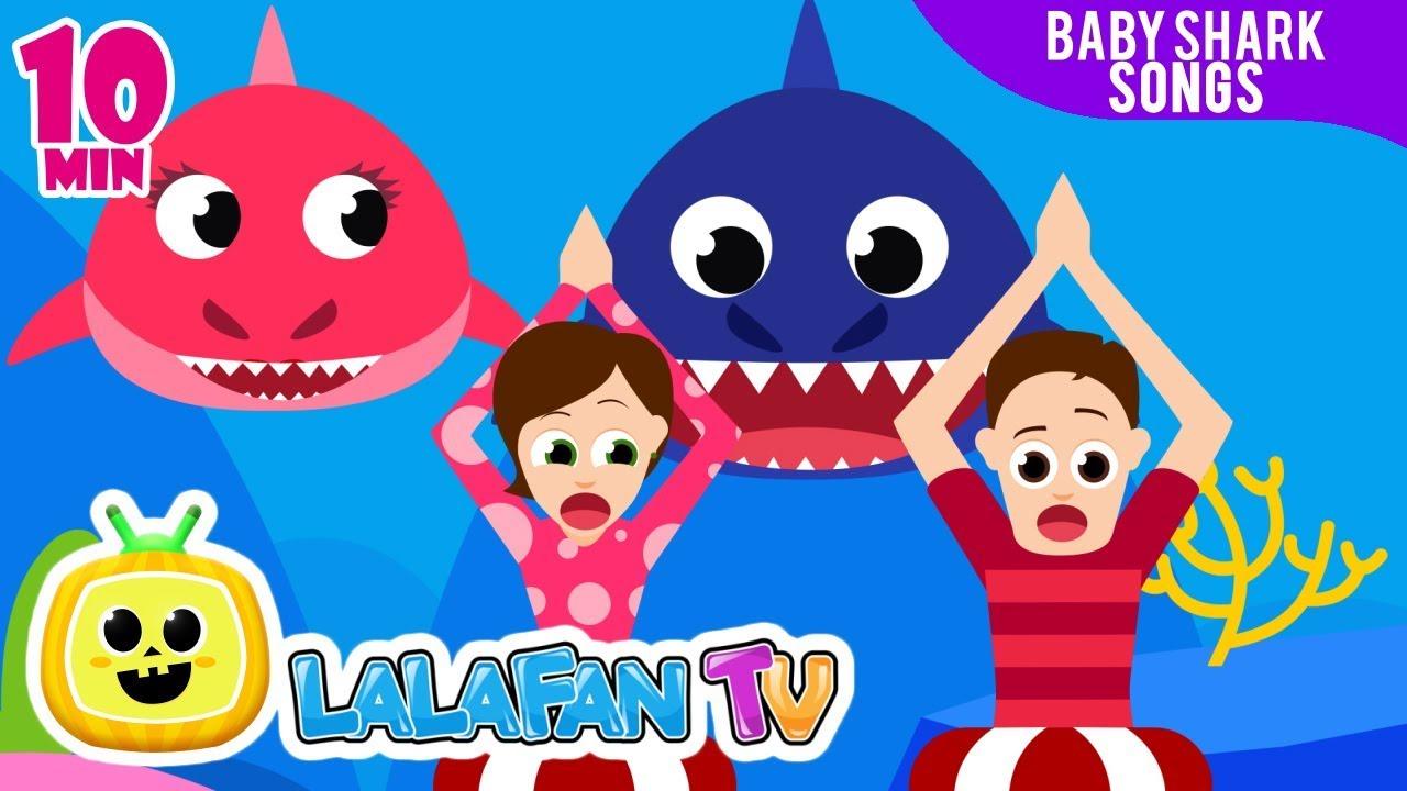 Baby Shark Dance | + More Nursery Rhymes with Baby Shark ...