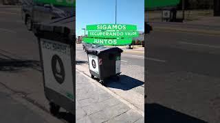 Se colocaron nuevos contenedores de residuos en Avenida Colón