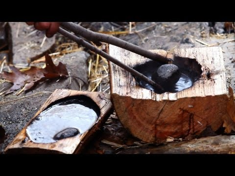 How to Purify Water for Rock Boiling   Survival Skills