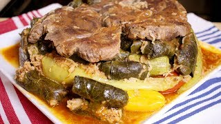 How to make Dolma With Meat (Assyrian Food)