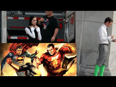 Scoot McNairy Spotted on Batman v Superman Set with Green Socks! Dwayne Johnson Talks Shazam!