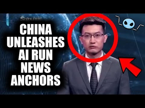 China now has AI news anchors...