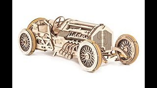 Ugears racing car part 2 complete engine