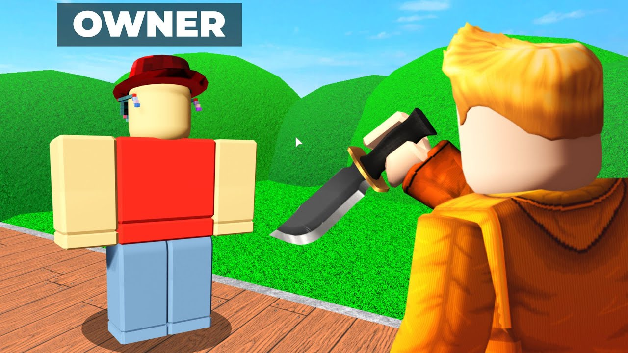 Download Murder Mystery 2 but I KILL THE OWNER..