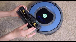видео робот пылесос irobot roomba