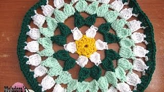 Spring Flower Doily - Crochet Tutorial