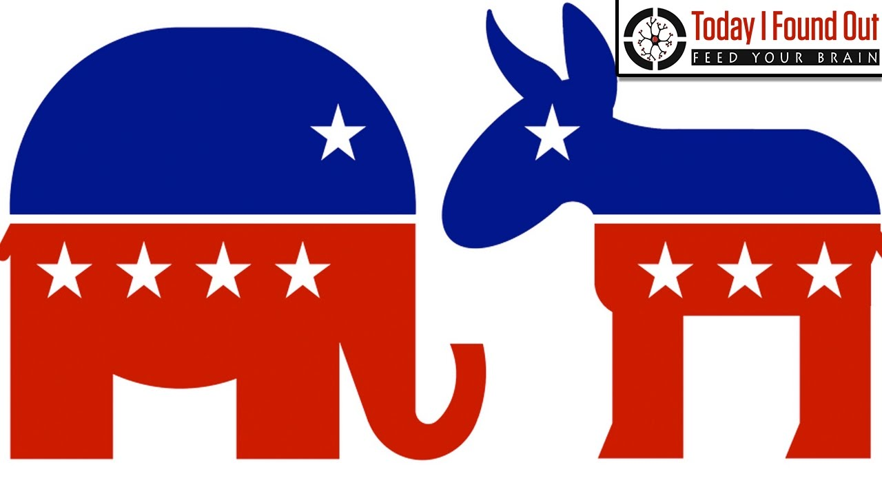 Why Do A Donkey And An Elephant Represent Democrats And Republicans Youtube This clipart image is transparent backgroud and png format. why do a donkey and an elephant represent democrats and republicans