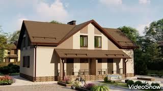 Проект дома на две семьи АС-236