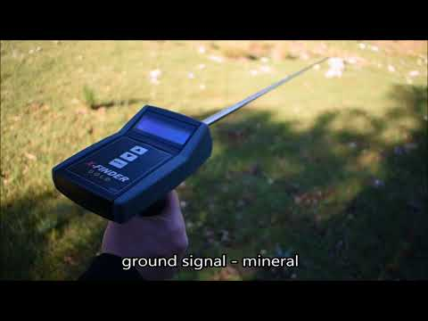Mineral rejection | GOLD X-FINDER best long range gold detector