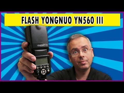Testei o Flash Yongnuo YN560 III