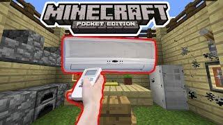 РАБОЧИЙ КОНДИЦИОНЕР В Minecraft PE 1.2