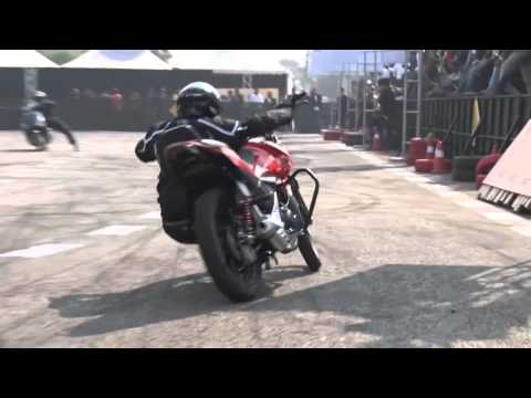 Hero MotoCorp Stunt Show at Auto Expo 2016 Delhi