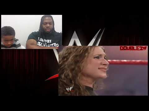 KS REACTION REQUEST - Vince McMahon & Trish Stratus vs William Regal & Stephanie McMahon  WWE Raw