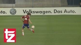 Gianluca Gaudino shows his skills - FC Bayern Munich