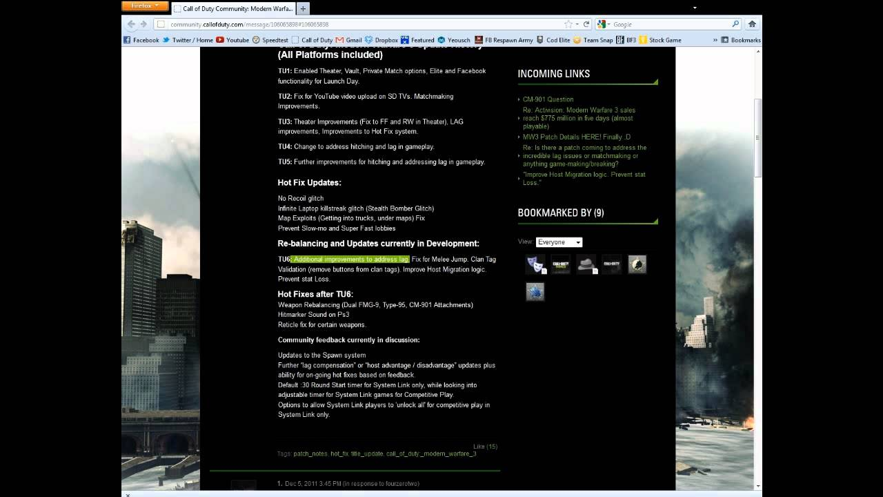 call of duty modern warfare 3 matchmaking issues