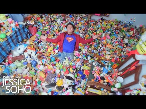 Kapuso Mo, Jessica Soho: Fast food toy collector ng Pampanga, kilalanin