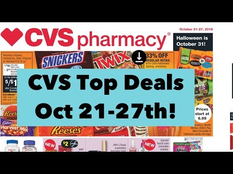 CVS Couponing Top Deals Oct 21-27th! Money maker toothpaste!!!!