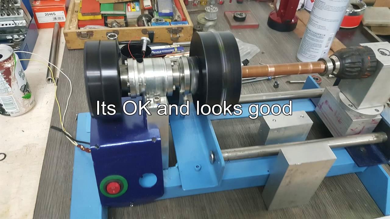 DIY mini lathe machine (Part 1)