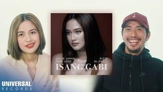 """Julie Anne San Jose, Rico Blanco - Talk About """"Isang Gabi"""""""