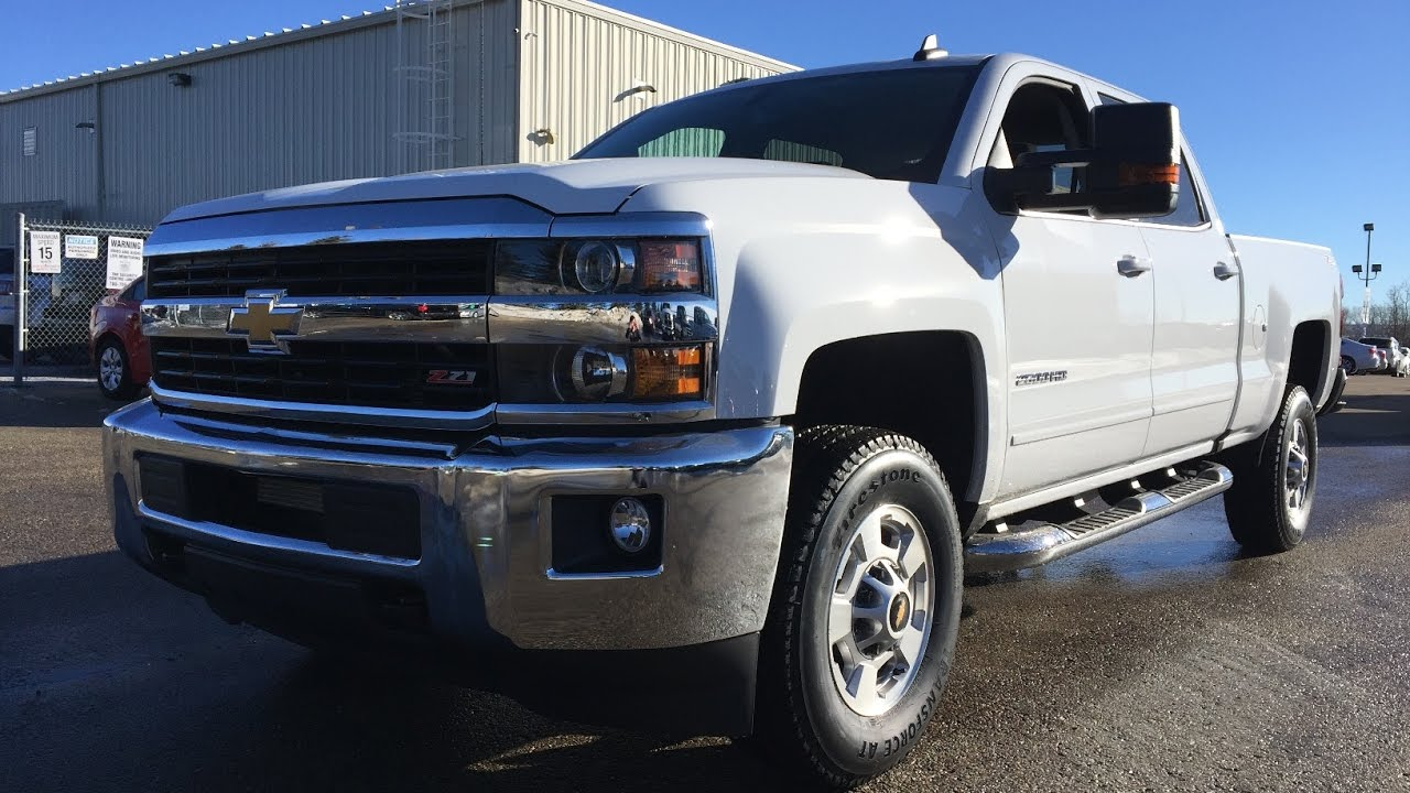 new 2017 chevrolet silverado 2500hd crew cab regular box for sale white 4x4 1lt 17n049. Black Bedroom Furniture Sets. Home Design Ideas