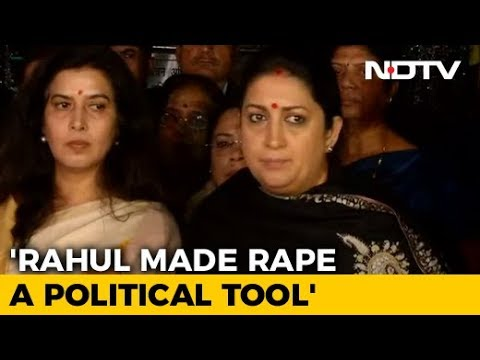 BJP Complains To Poll Body Against Rahul Gandhi's 'Rape In India' Remark