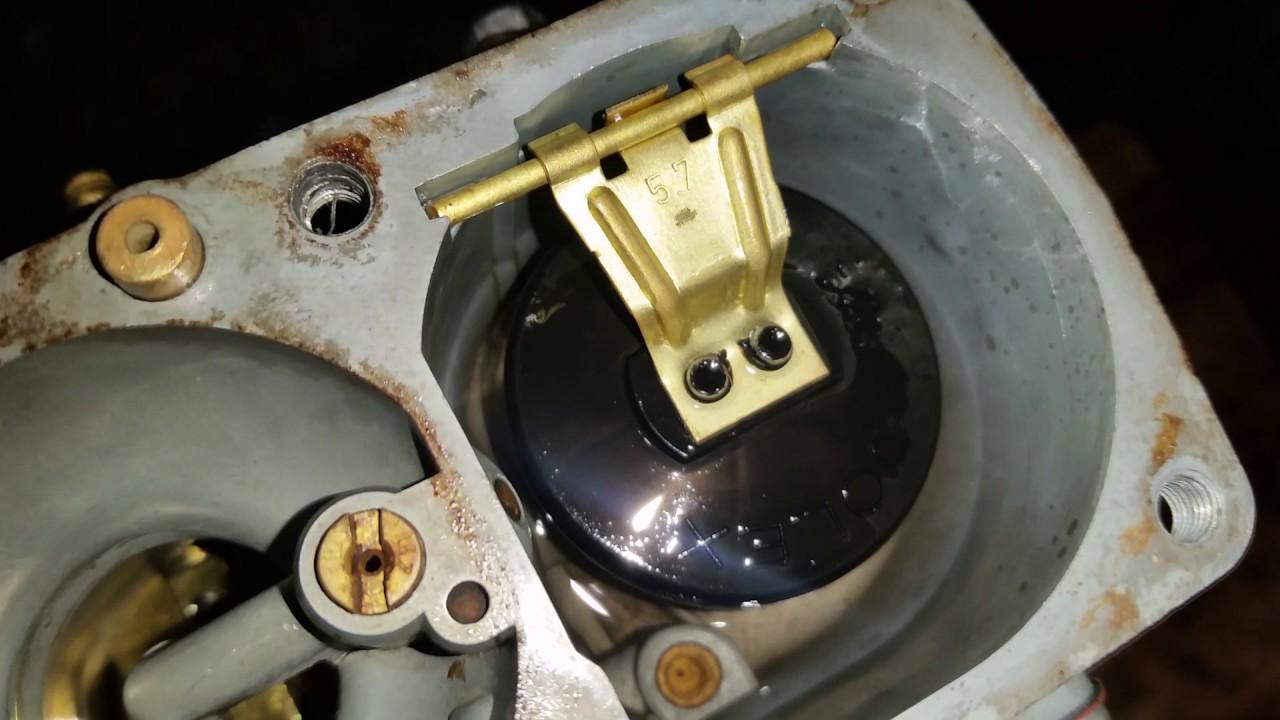 Regulagem da bóia do carburador do fusca.