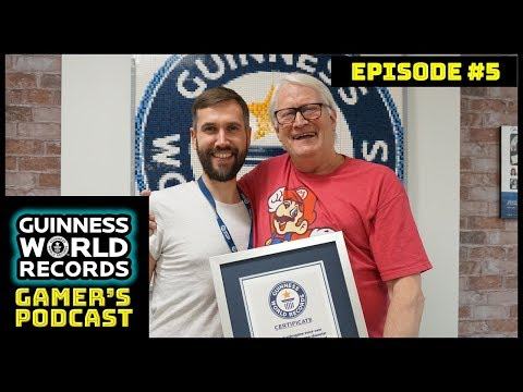 "Charles Martinet ""the voice of Mario"" special – GWR Gamer's Podcast Episode 5"