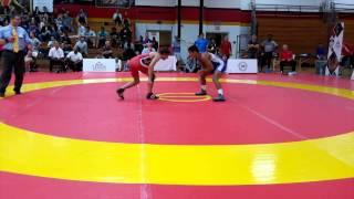 2015 Canada Cup 57 kg Sam Jagas vs Steven Takahashi