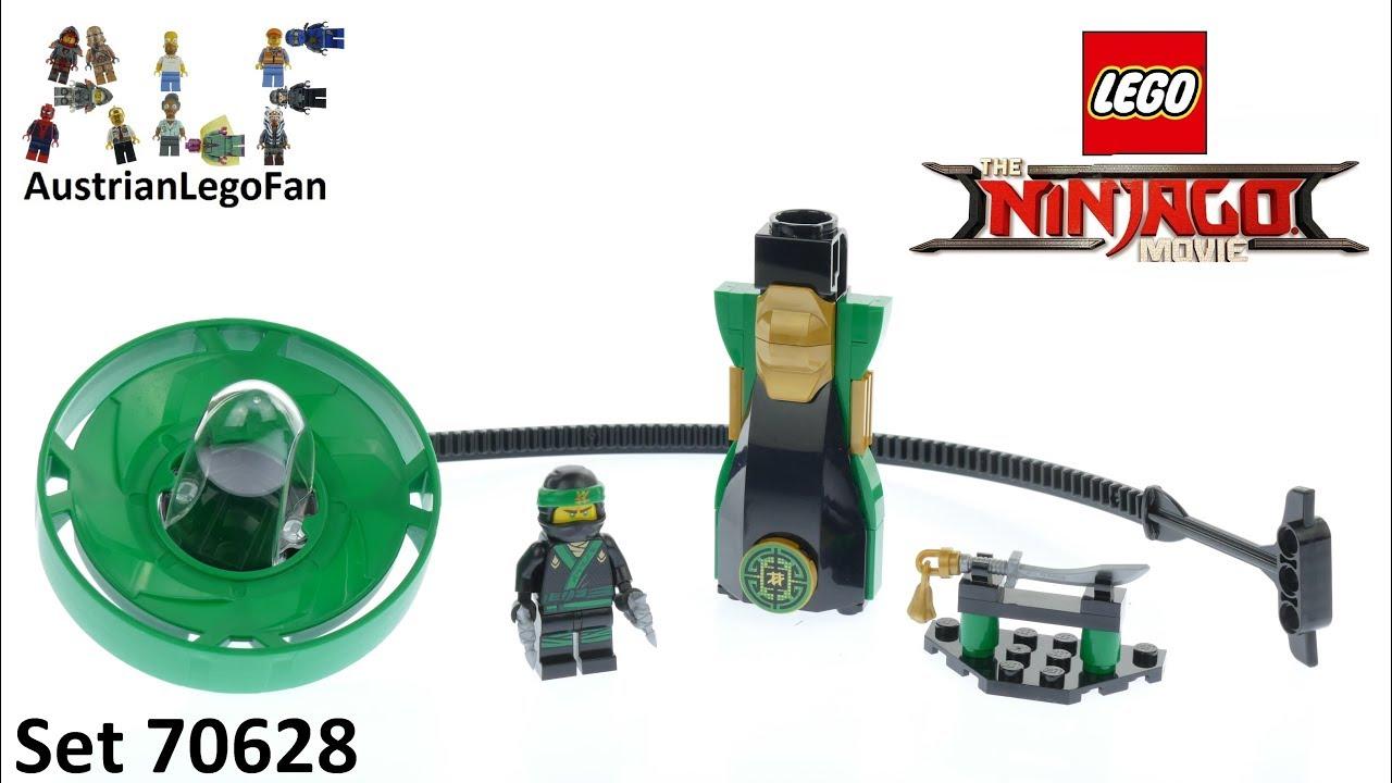 Lego Ninjago Movie 70628 Lloyd Spinjitzu Master Speed Build Youtube