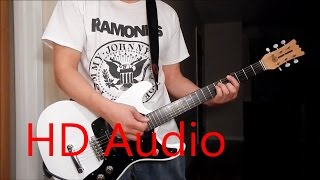 Ramones – Carbona Not Glue (Guitar Cover), Barre Chords, Downstroking, Johnny Ramone