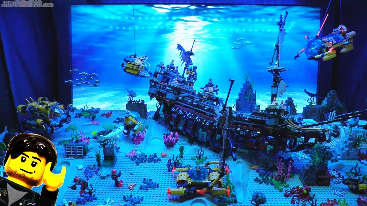Cool Minecraft Wallpapers Hd Ocean Lego Display With Animated Backdrop Amp Sound Jan 15