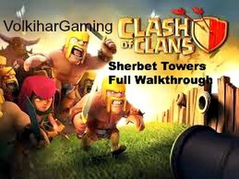 Clash of Clans - Sherbet Towers Level 4 Troops