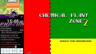 Sonic 2 Knuckles Speedrun Tutorial: Chemical Plant