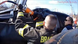 Jaws of Life Extrication Helmet Cam