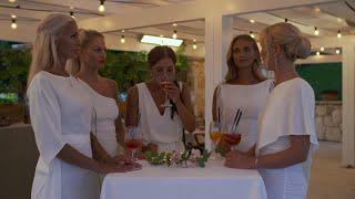 Gabriella Bylund avslöjar att hon och David Möller kyssts under minglet - Bachelor (TV4)