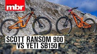 Download Video 12,000m down: Scott Ransom VS Yeti SB150 in the Alps | Mountain Bike Rider MP3 3GP MP4