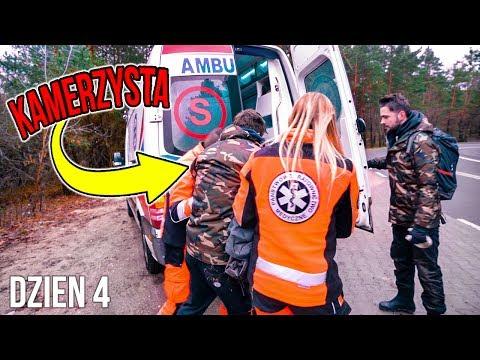 Kamerzysta trafia do szpitalu...ostatni dzień w lesie