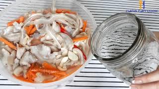 Món ngon ngày tết - Tai Heo Ngâm Chua Ngọt  gây nghiện | HANG CAN COOK