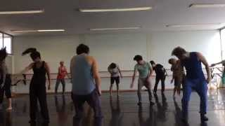 Contemporary Dance Class Part 1 by Yeri Anarika