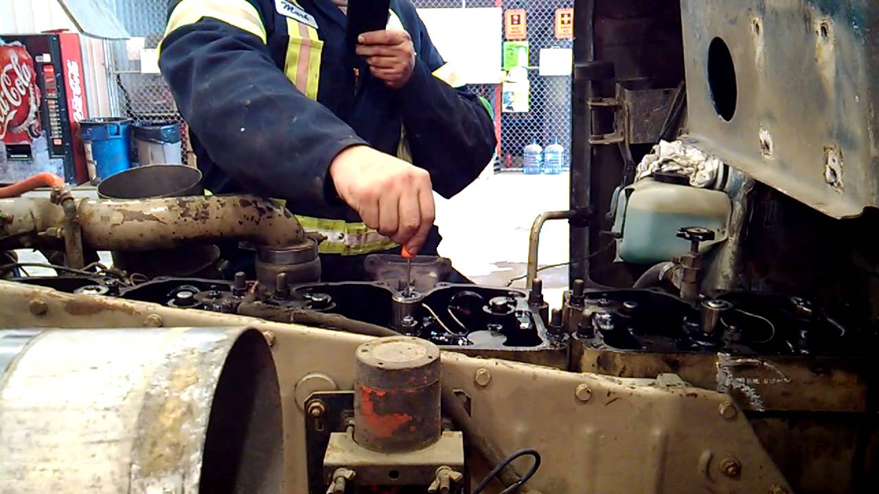 medium resolution of 400 cummins big cam 4 jake brake test