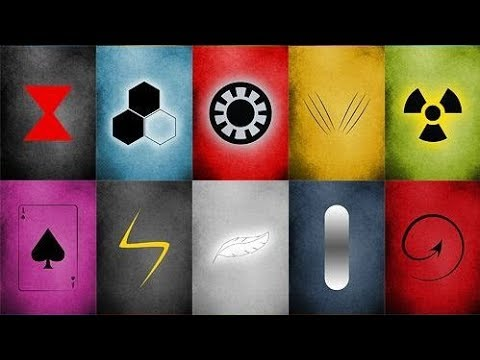 Guess The Marvel Superhero By The Logo Challenge Only True Marvel