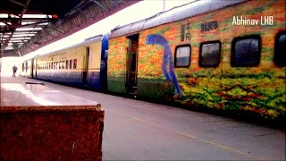 3 SHATABDI trains in 1 video: AMRITSAR, COIMBATORE and KALKA SHATABDI at New Delhi !(12031 New Delhi - Amritsar Weekly ICF Shatabdi Express departs platform no. 1 of New Delhi behind GZB WAP5 30042; while 12011 New Delhi - Kalka LHB ..., 2015-03-29T14:02:09.000Z)
