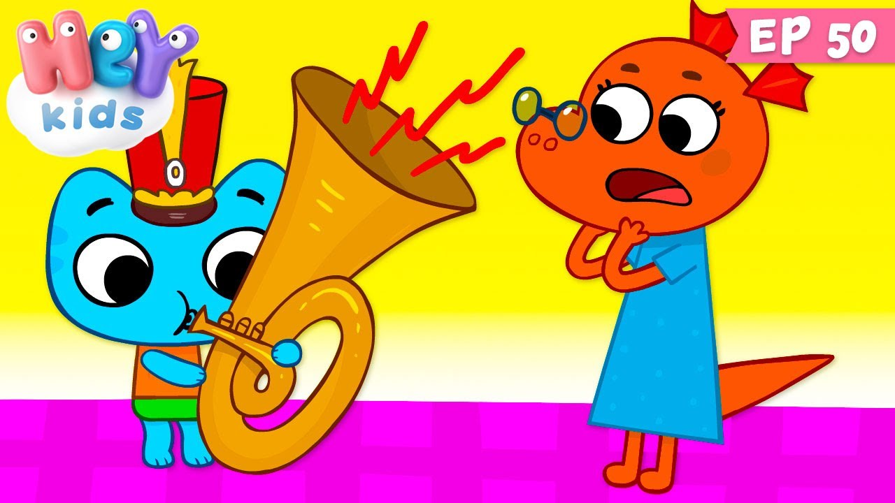 Kit și Keit: Ora de liniște   Desene animate   HeyKids