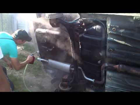 Фото №3 - обработка днища ВАЗ 2110 своими руками