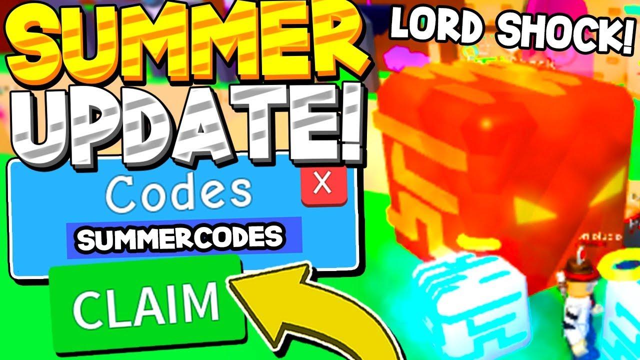 Bubbble Gum Simulator Roblox Codes Summer Secret Pet Egg Update Codes In Bubble Gum Simulator Roblox Youtube