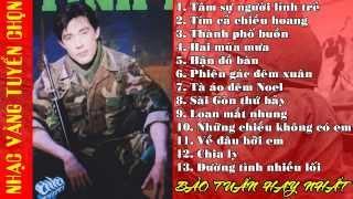BẢO TUẤN - Những ca khúc nhạc vàng hay nhất của Bảo Tuấn