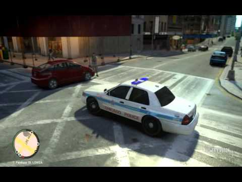 Gta iv lcpdfr day 1 chicago police youtube