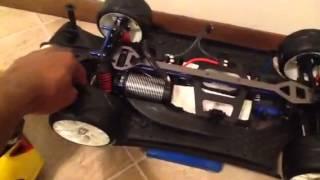 Traxxas xo-1 1/5th scale wheel mod