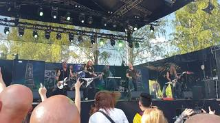 Omnium Gatherum - New Dynamic @ John Smith Rock Festival 2019
